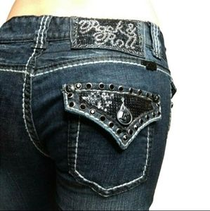 Rock & Roll Cowgirl Bootcut Jeans 25